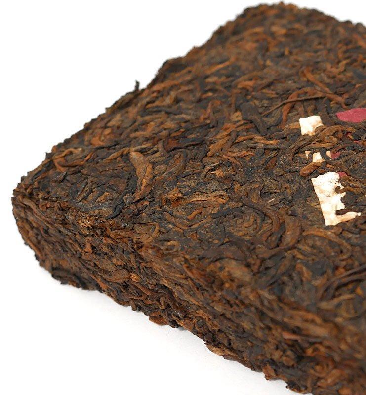 Шу Пуэр Ча Чжуань прессованный чай 2013г (№180)  - фото 5
