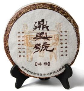 Хон Дин Тао, прессованный чай Шу Пуэр № 800