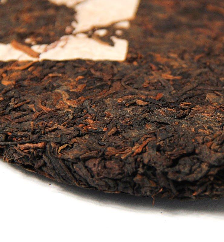 Шу Пуэр «Хон Дин Тао» прессованный чай (№800)  - фото 5