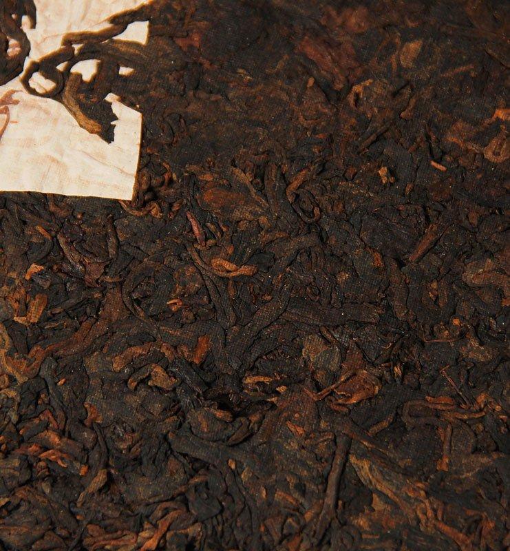 Шу Пуэр «Хон Дин Тао» прессованный чай (№800)  - фото 3