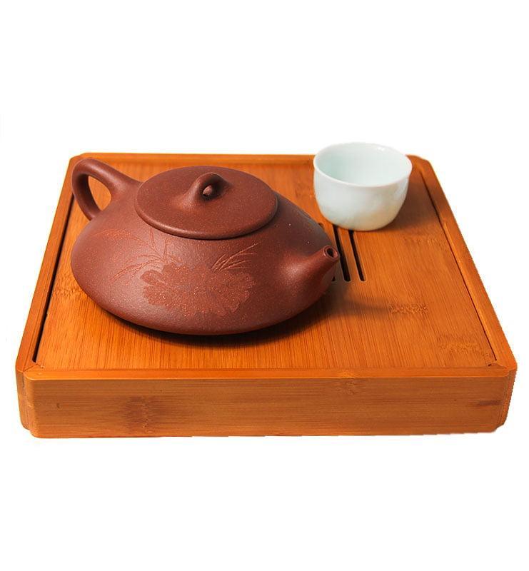 Чайник из исинской глины формы Ши Пяо, «Каменный ковш»