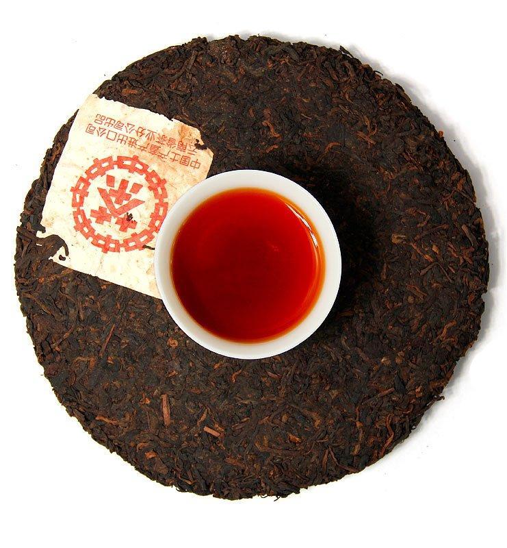 Ци Цзы Бин Лао Хун Чжу Хун чай Шу Пуэр 1995 года № 3200