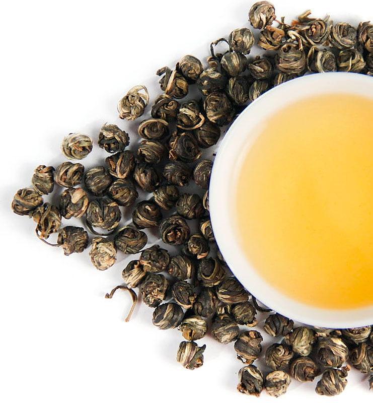 Моли Цзинь Лун Фэн Ян, зелёный чай с жасмином (№260)  - фото 2