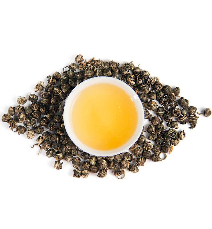 Моли Цзинь Лун Фэн Ян, зелёный чай с жасмином (№260)  - фото 5