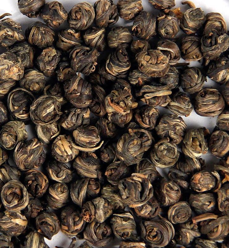Моли Цзинь Лун Фэн Ян, зелёный чай с жасмином (№260)  - фото 3