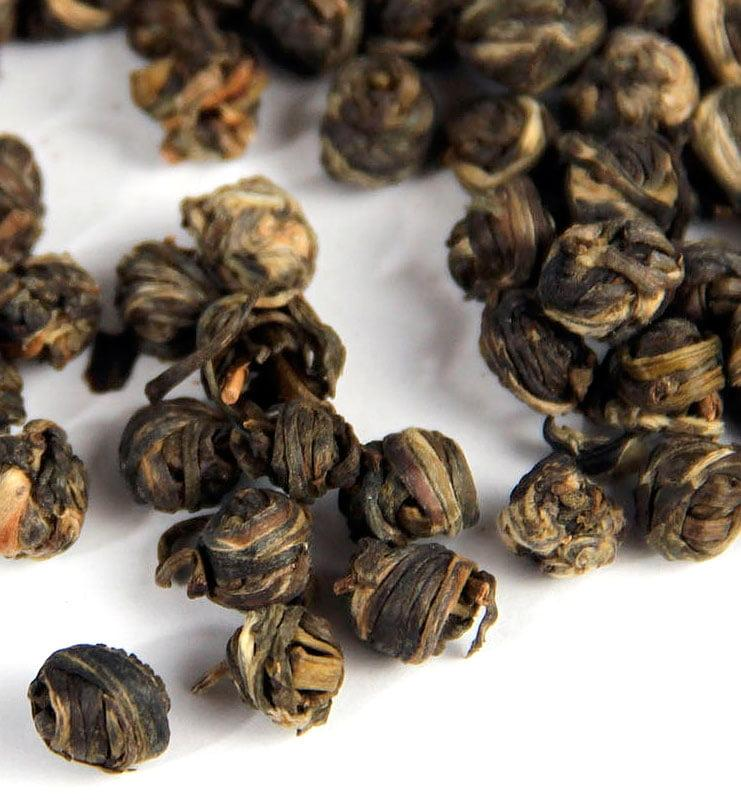 Моли Цзинь Лун Фэн Ян, зелёный чай с жасмином (№260)  - фото 4