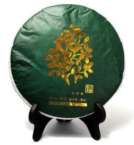 История одного листочка, прессованный чай Шу Пуэр №520