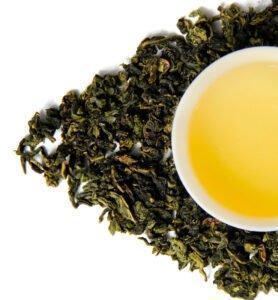 Те Гуань Инь светлый Улун бирюзовый чай №800  - фото