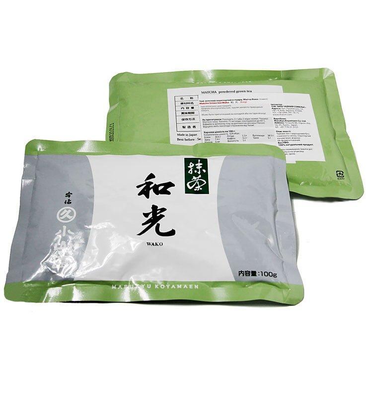 Японский порошковый чай Маття или Матча «Вако»