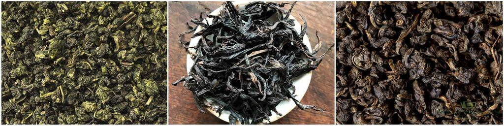 улун (烏龍茶,wu long cha) — это полу-ферментированный чай