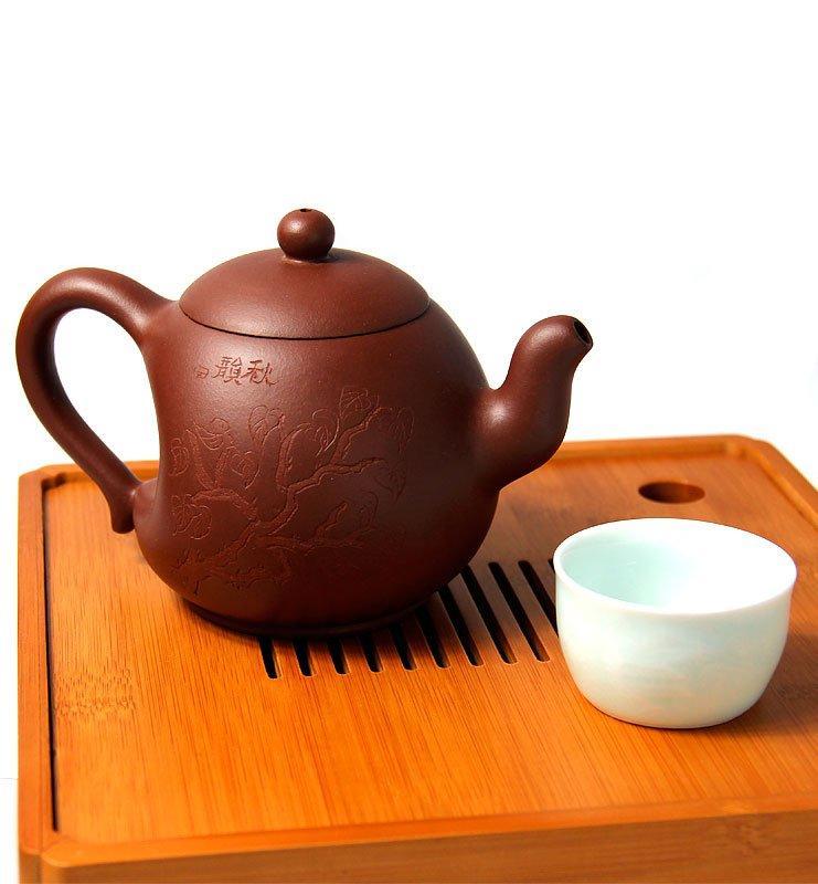 Чайник из исинской глины с Лунным изгибом