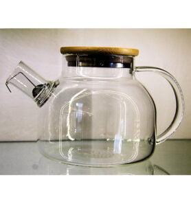 Заварочный чайник из жаропрочного стекла 1000мл.