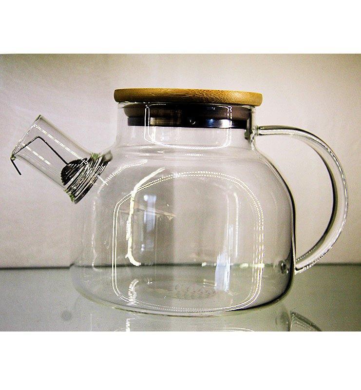 varka 1 - Заварочный чайник из жаропрочного стекла 1000мл