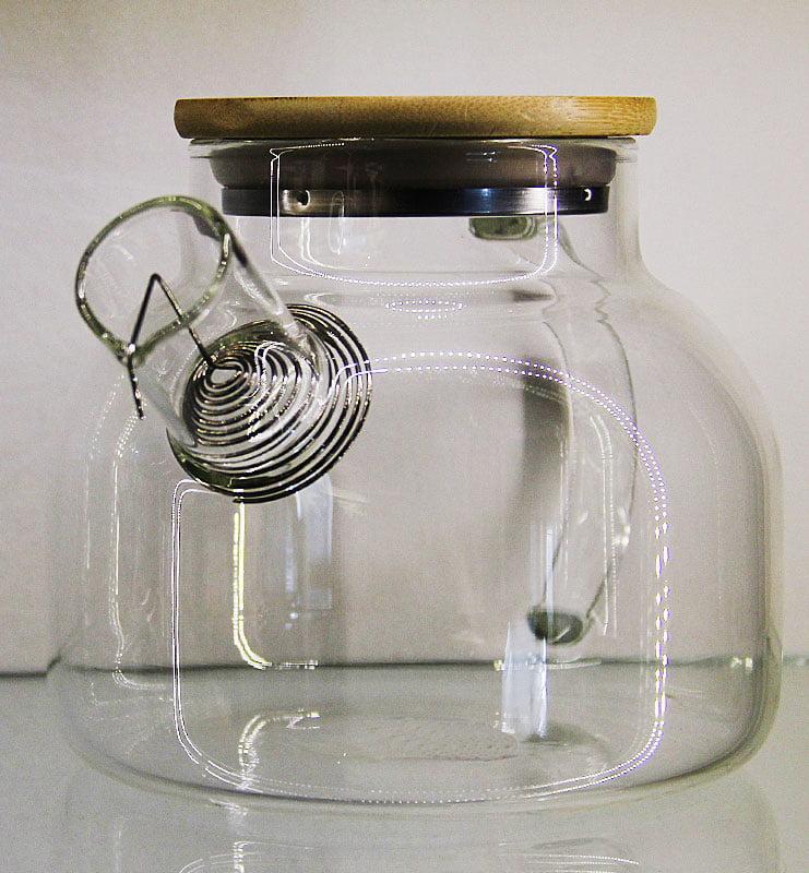 varka 2 - Заварочный чайник из жаропрочного стекла 1000мл