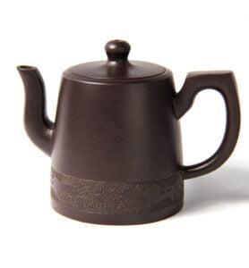 Чайник из исинской глины «Отвесной колокол»