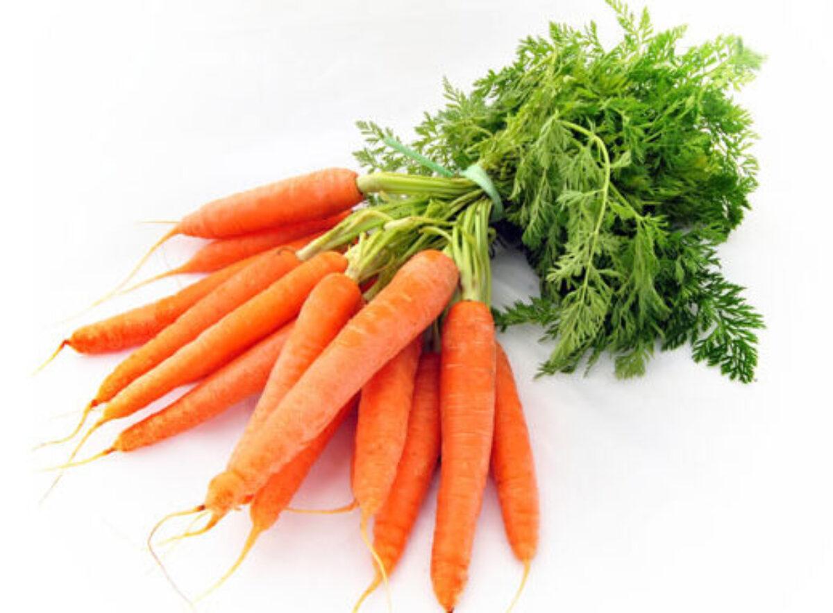 Ешь морковь и пей зеленый чай!