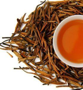 Да Цзинь Чжень рассыпной красный (черный) чай № 480