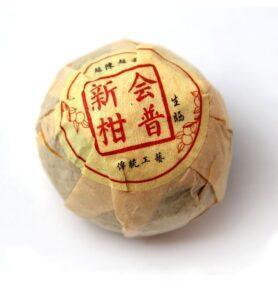 Чай Шу Пуэр рассыпной в мандарине № 200