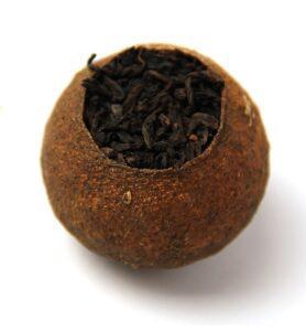 Чай Шу Пуер розсипний в мандарині (№200)