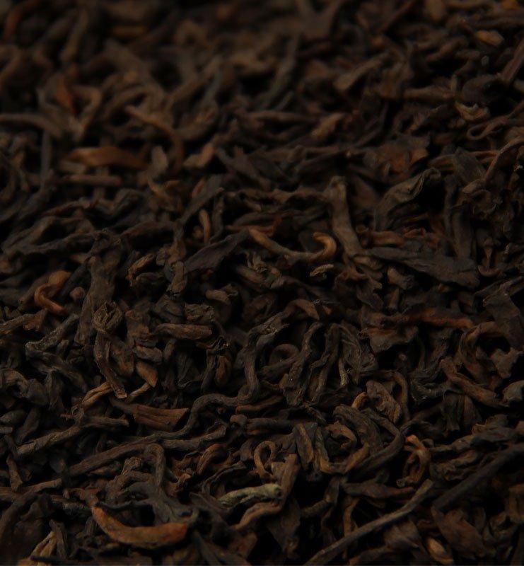 Лао Шу Пуэр 2008 года, выдержанный чай (№1000)  - фото 3