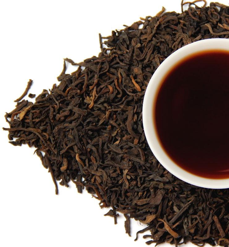 Лао Шу Пуэр 2008 года, выдержанный чай №1000