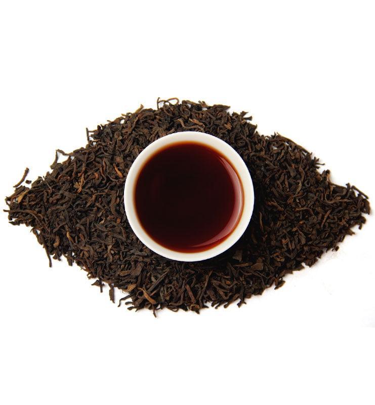 Лао Шу Пуэр 2008 года, выдержанный чай (№1000)  - фото 5