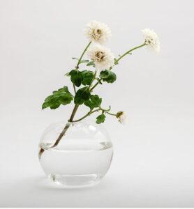 Стеклянный шар подсвечник, ваза  - фото 2