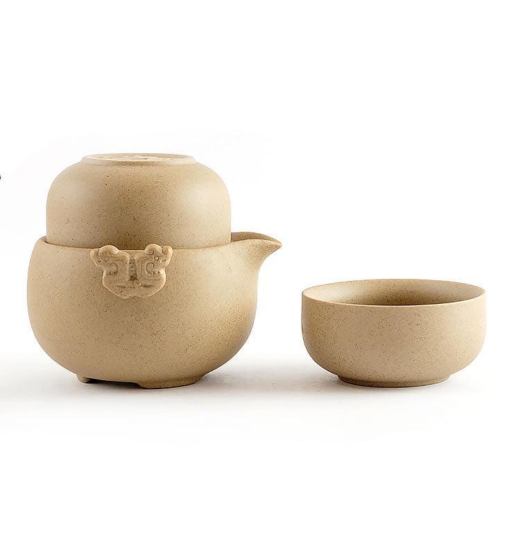 Чайный сервиз «Эгоист, но не совсем» 175мл  - фото