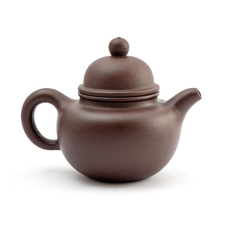 Чайник из исинской глины До Цю «Падающий шарик»  - фото