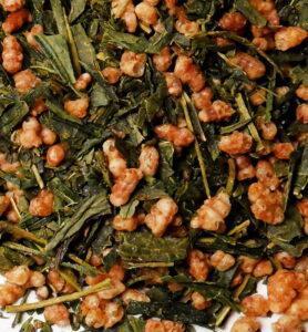 Генмайча, японский зеленый чай №180