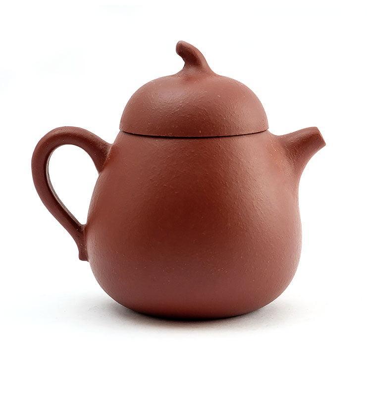 hvostik 1 - Чайник из исинской глины формы Гуа Ху 150мл