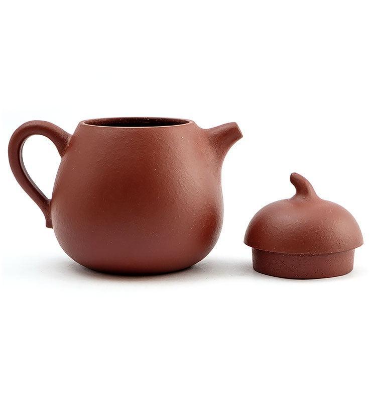 hvostik 6 - Чайник из исинской глины формы Гуа Ху 150мл
