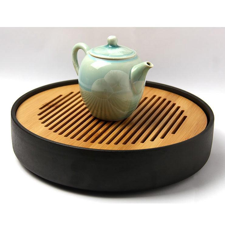Тайваньский фарфоровый чайник с кристаллами  225 мл  - фото 5