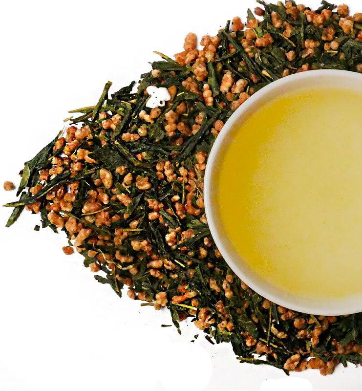 kristal 6 - Генмайча, японский зеленый чай (№180)