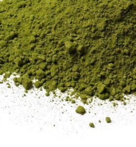 Японский зеленый порошковый чай Маття или Матча для коктейлей