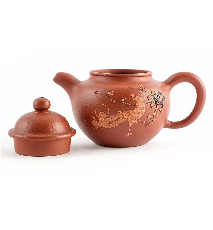 Чайник из исинской глины До Цю «Павлин», 175 мл  - фото 2