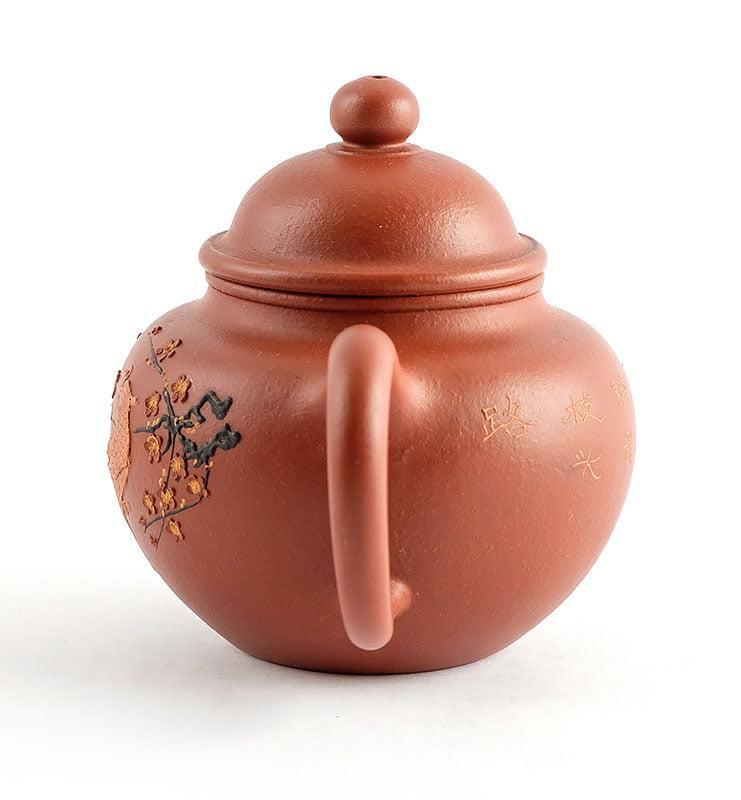 Чайник из исинской глины До Цю «Павлин», 175 мл  - фото 4