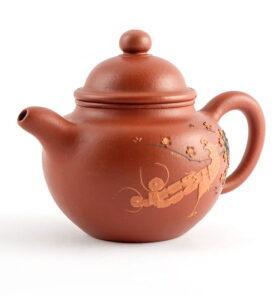 Чайник из исинской глины До Цю «Павлин», 175 мл