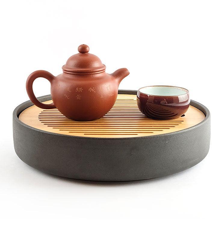 Чайник из исинской глины До Цю «Павлин», 175 мл  - фото 3