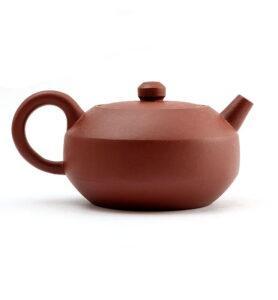 Чайник из исинской глины формы Фан Ху  «Чайник с гранями» 200 мл