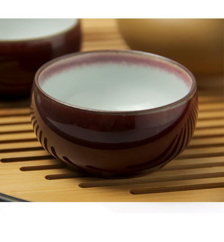Чашки керамические «Вишневая глазурь»  - фото 3