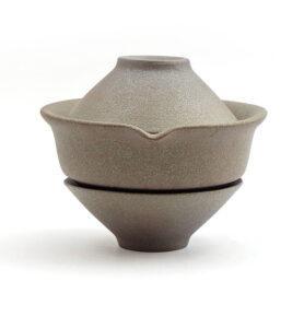 Чайный сервиз в японском стиле с двумя пиалами  - фото 2