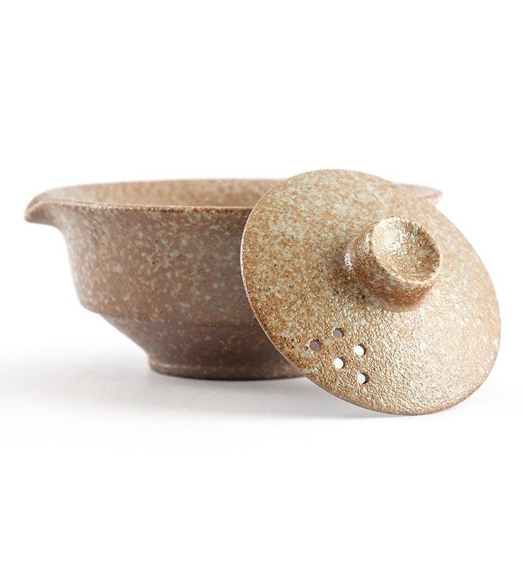 Чайный сервиз в японском стиле с двумя пиалами