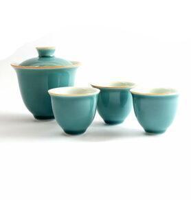 Сервиз чайный дорожный цвета Цин