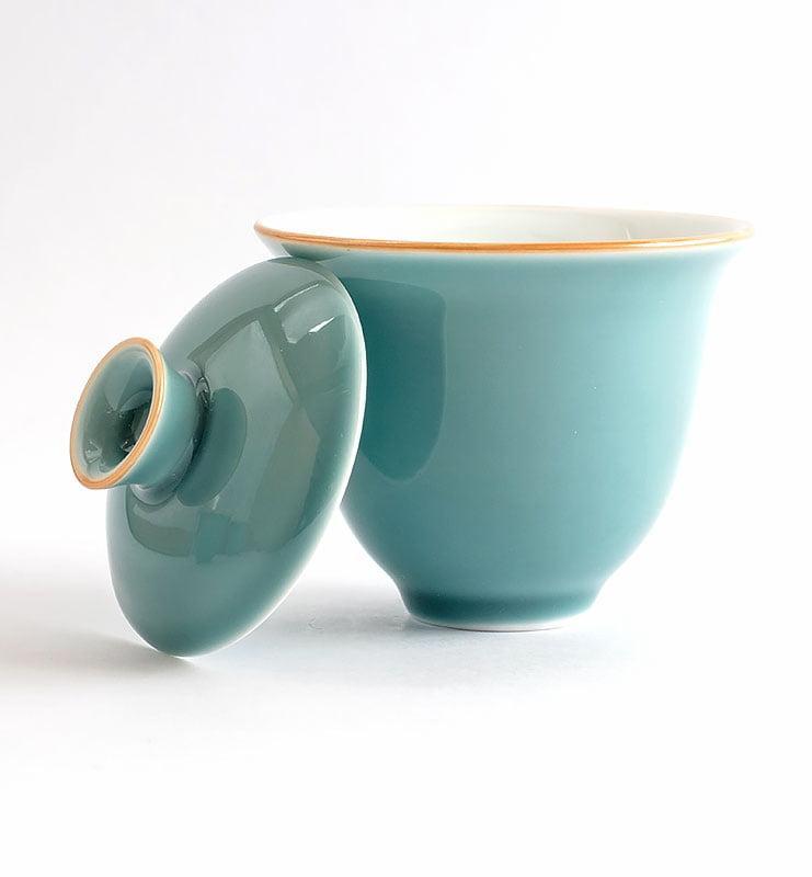 Сервиз чайный дорожный цвета Цин  - фото 4