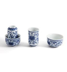 Чашки для чая, Чайная пара «Нежный пион»  - фото