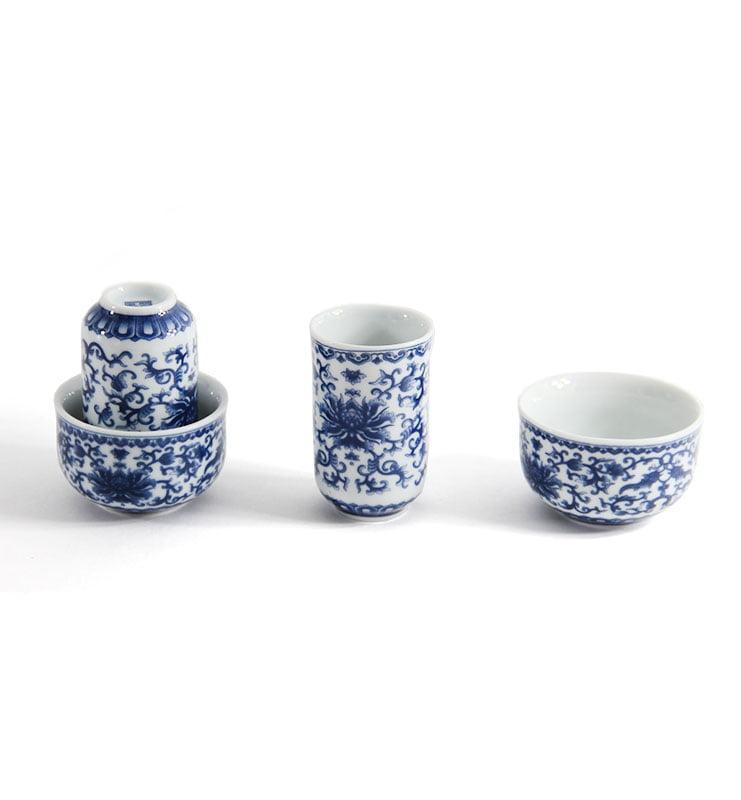 """para 2 - Чашки для чая, Чайная пара для улунов """"Нежный пион"""""""