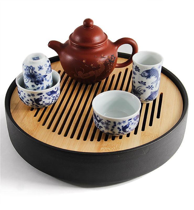 "para 5 - Чашки для чая, Чайная пара ""Зеркальные карпы"" 40мл"