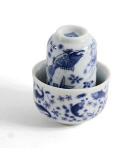 Чашки для чая, Чайная пара «Зеркальные карпы»  - фото 2