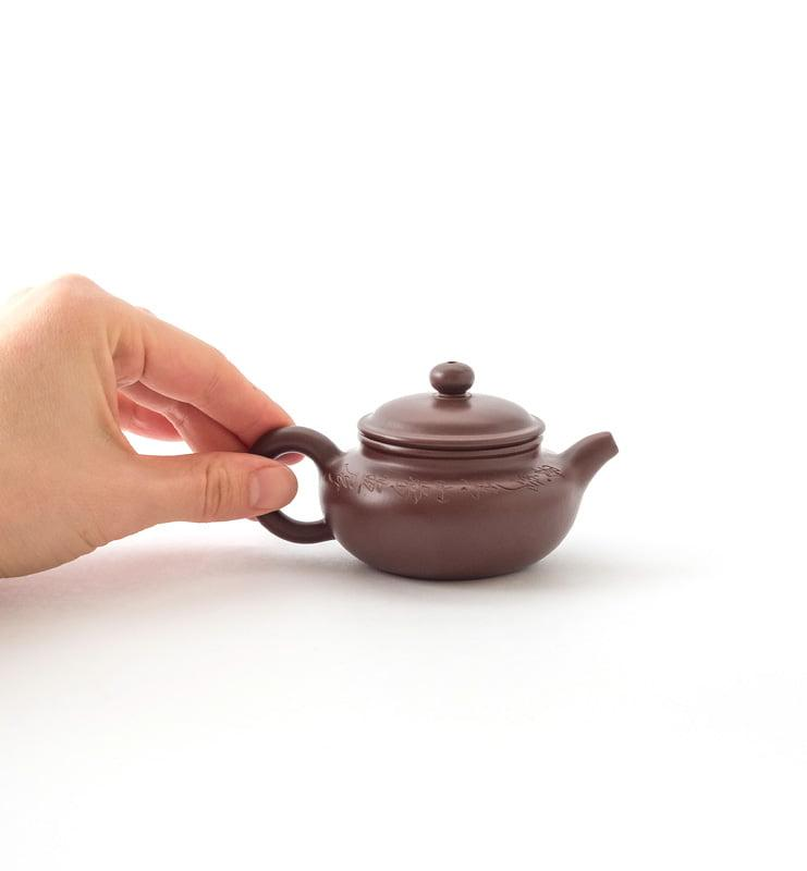 Чайник из исинской глины «Фань Гу» 100 мл.  - фото 2